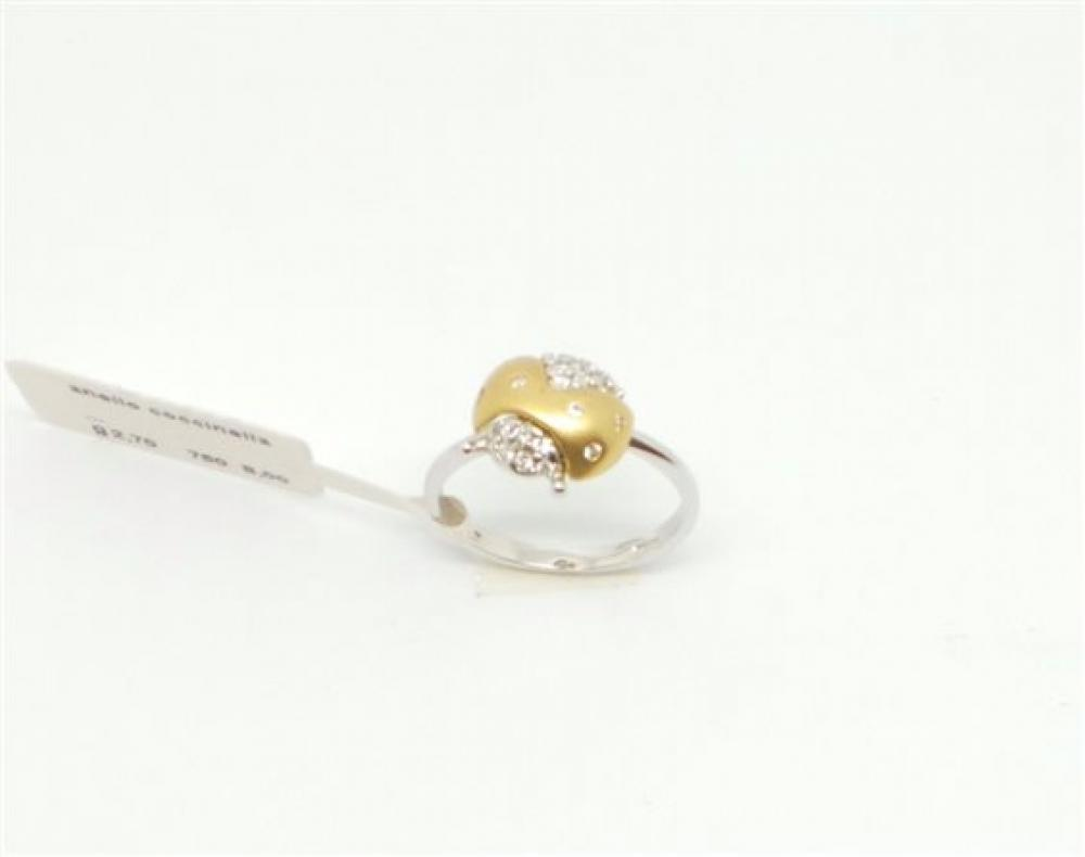 Details zu Ringe Unbranded Bambino AN573340 9_0 Gold White gold